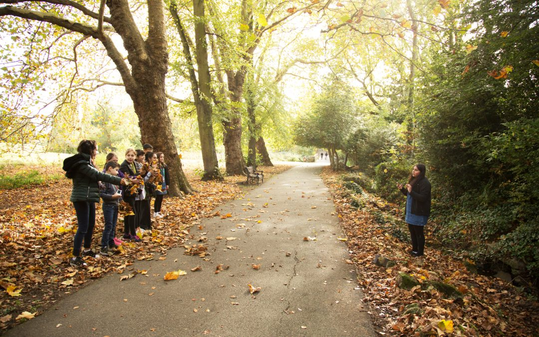 Photography Autumn Workshops for Children