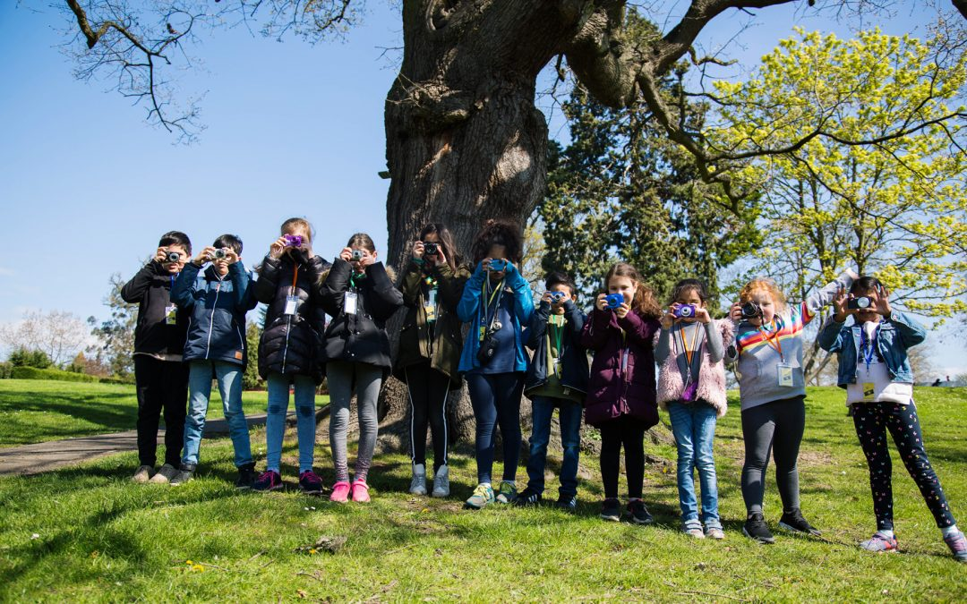 Photography Workshops for children in north London, Whetstone