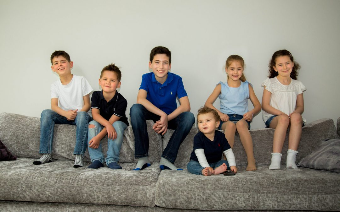 A Grandchildren Photo Shoot in Radlett, Hertfordshire