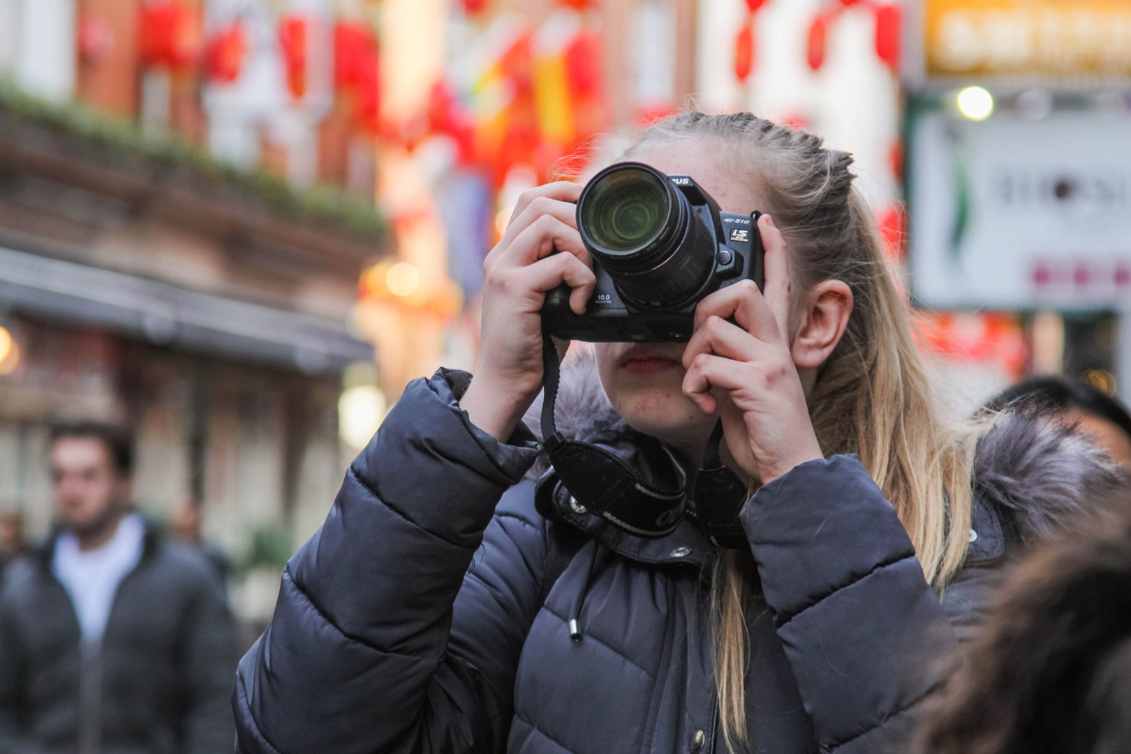 learning how to use your DSLR camera